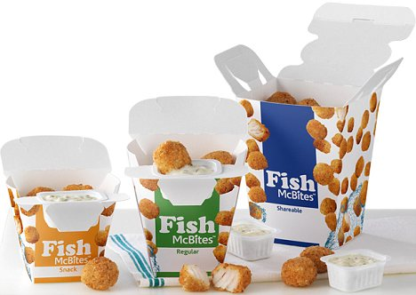 Five recent failed fast food products the shameless consumer for Mcdonalds fish calories